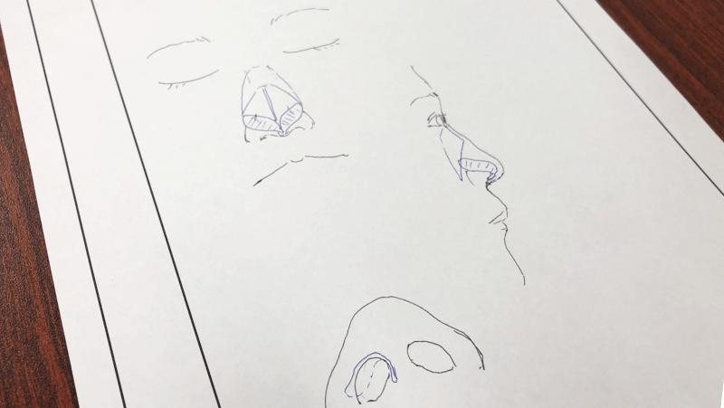 東京美容外科<東京新宿院>鼻の絵